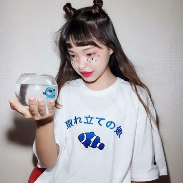 [크로스드레슬리:CROSSDRESSLY] FISH ORIGINAL T-SHIRTS