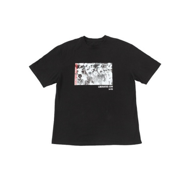 [에이브이오:A-VO] HOLOCAUST HALF T-SHIRT (black)