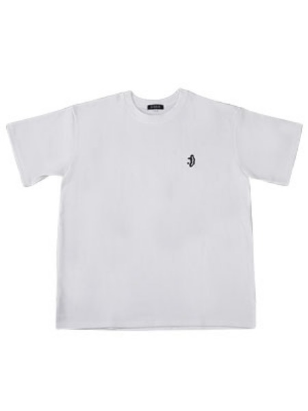 [DXOH:디쏘에이치] Smile Logo T-shirt [ White ]