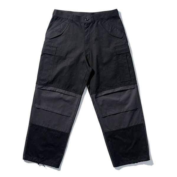 [노매뉴얼:nomanual] K.N CARGO PANTS - BLACK