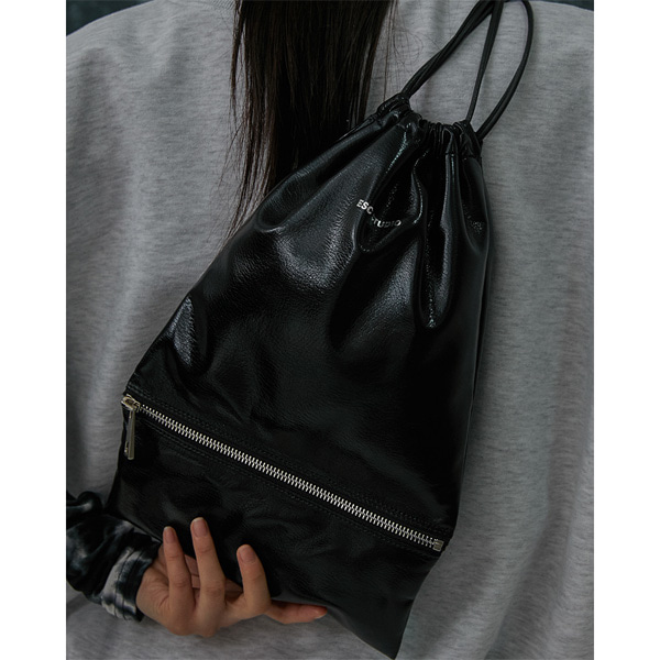 [ESCSTUDIO:이에스씨스튜디오] Leather bucket bag