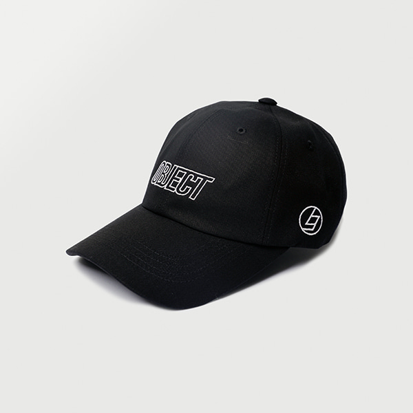 [오브젝트:OBJECT] OBJECT LOGO CAP (BLACK_WHITE)