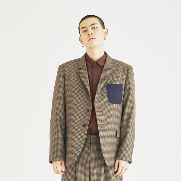 [컨츄리파우더:countrypowder] RETRO DADDY JACKET(BROWN)