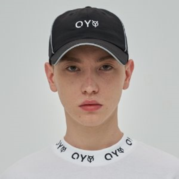 [오와이:OY] REFLECTIVE PIPING CAP - BK