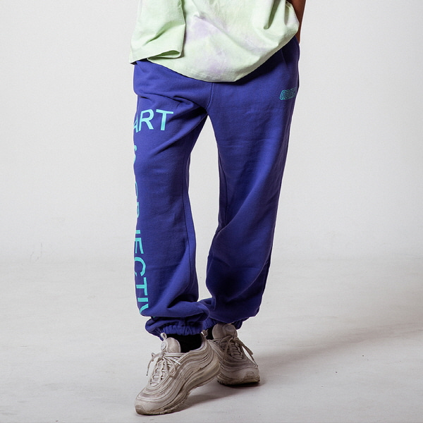 [오브젝트:OBJECT] ART IS OBJECTIVE SWEATPANTS (PURPLE)