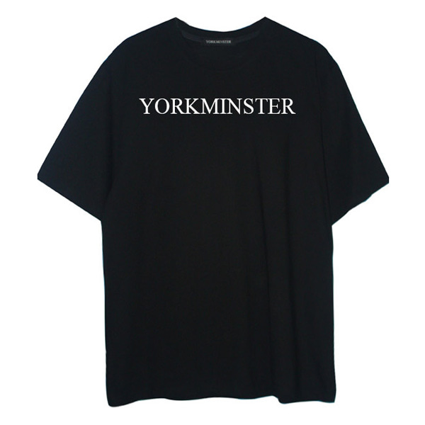 [요크민스터:YORKMINSTER] YORKMINSTER NAME SHORT SLEEVE - BLACK