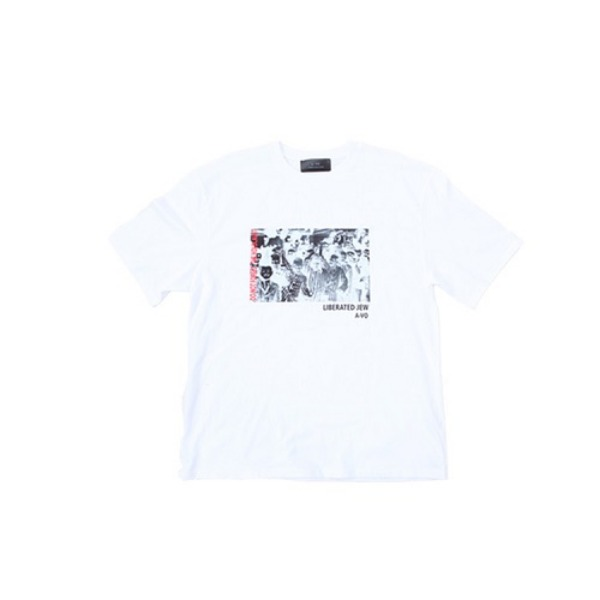 [에이브이오:A-VO] HOLOCAUST HALF T-SHIRT(WHITE)