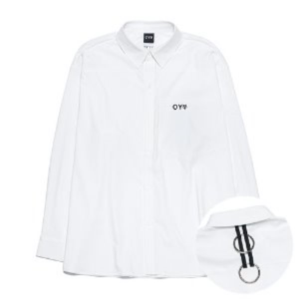 [오와이:OY] TAPE RING SHIRTS - WHITE