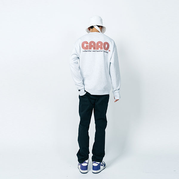 [가로:GARO] ARI Sweat shirts (OATMEAL)