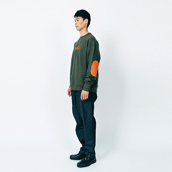 [가로:GARO] PATCH Sweat shirts (khaki)
