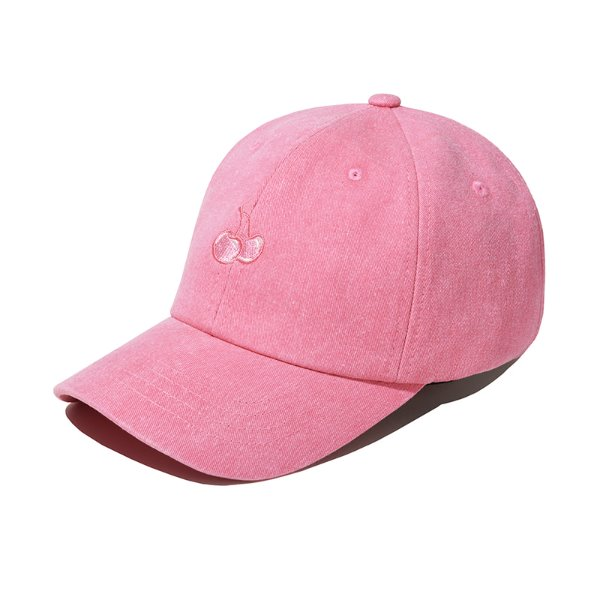 [키르시:KIRSH] TONE ON TONE CHERRY CAP JS [PINK]