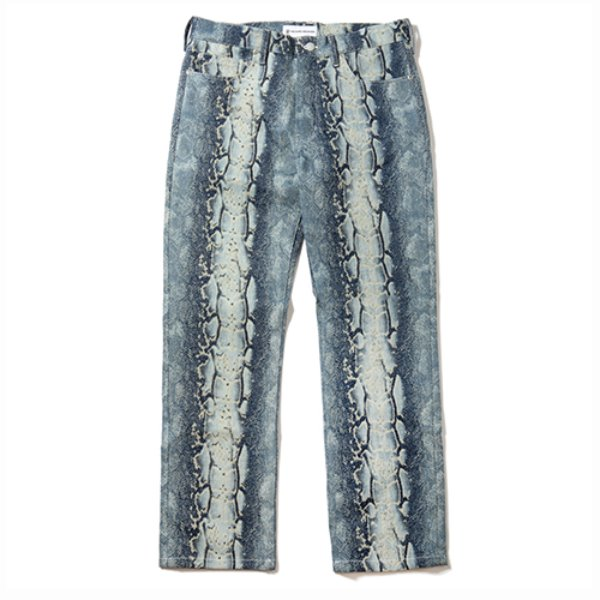 [킹아카이브:KING-ARCHIVES] Python Denim Pants