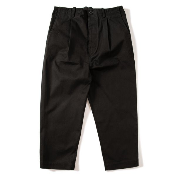 [킹아카이브:KING-ARCHIVES] Pleated Wide Pants -Black