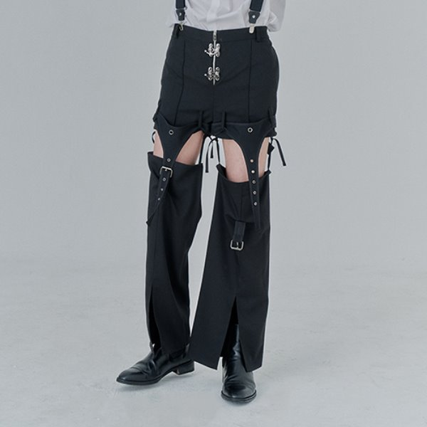 [어져드:OZOD] DETACHABLE PANTS_black