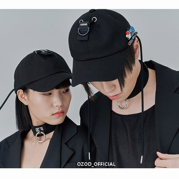 [어져드:OZOD] SMOKER BALL-CAP_black