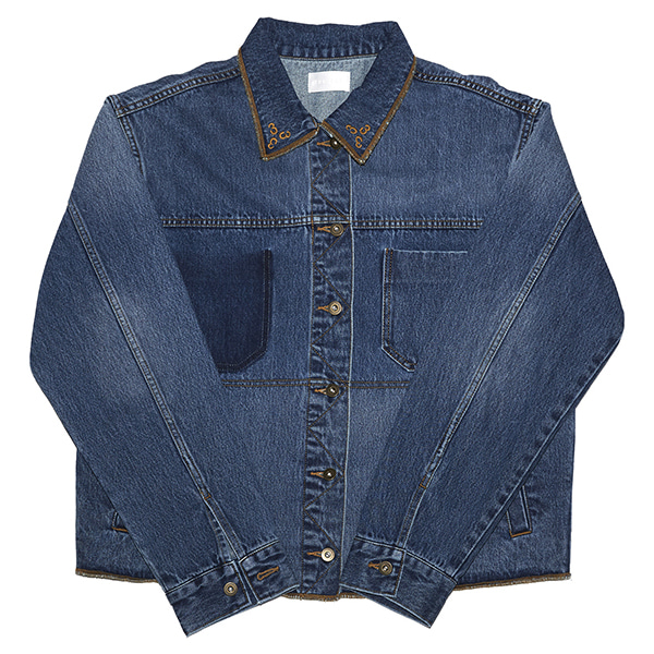 [포스333:PHOS333] Phos333 Denim Jacket/Medium Blue