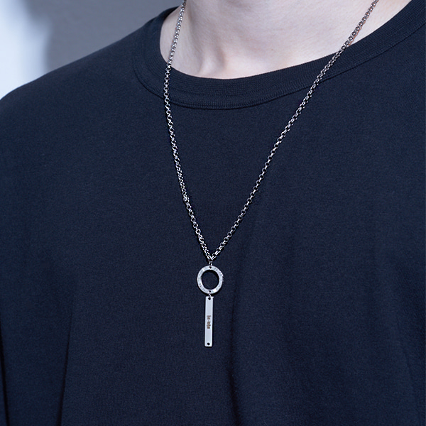 [하와:HAWHA] Roma Clock Necklace