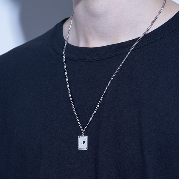 [하와:HAWHA] Vintage Card Necklace
